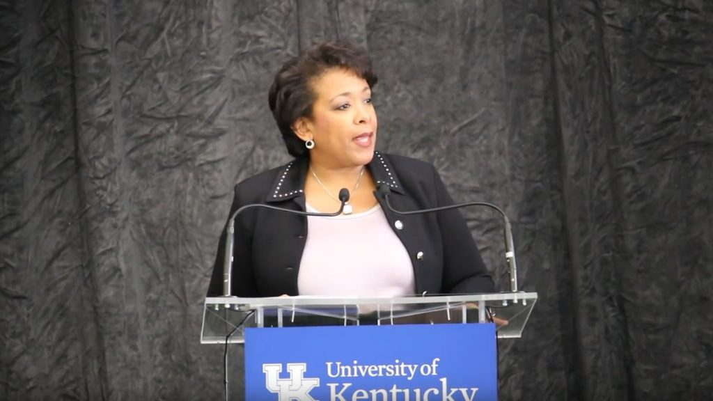 US Atty. General Lynch Visits State to address opioid and heroin abuse