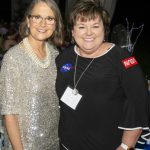Shae Hopkins and a guest at KET's Summer Celebration 2019
