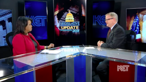 Senate Majority Floor Leader Discusses Pension and Budget Issues