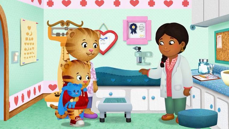 Daniel The Tiger Goes to the Doctor