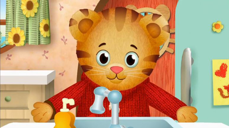 Daniel Tiger Germs Go Away
