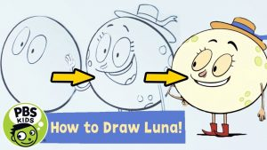How to draw luna