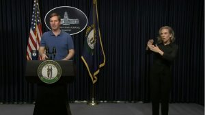Gov. Beshear gives a covid-19 in Kentucky update