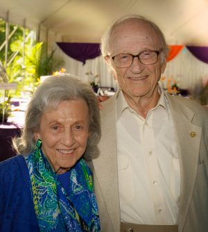 Lillian and Len Press celebrate KET at its annual Summer Celebration gala in 2018.
