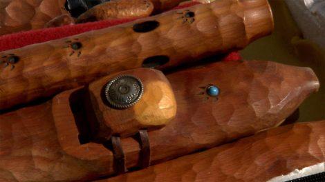 Wooden Navajo flutes