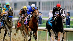 Horse racing at Kentucky Derby