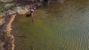 Bass fishing at Lake Cumberland