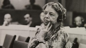 Eleanor Roosevelt at the United Nations
