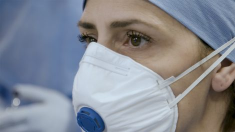 Dr. Francesca Mangiatordi, who leads the emergency department at Cremona Hospital in Northern Italy.