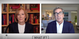 Judy Woodruff and Miles O'Brien