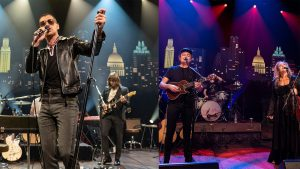 Arctic Monkeys and Wild Child on stage at Austin City Limits