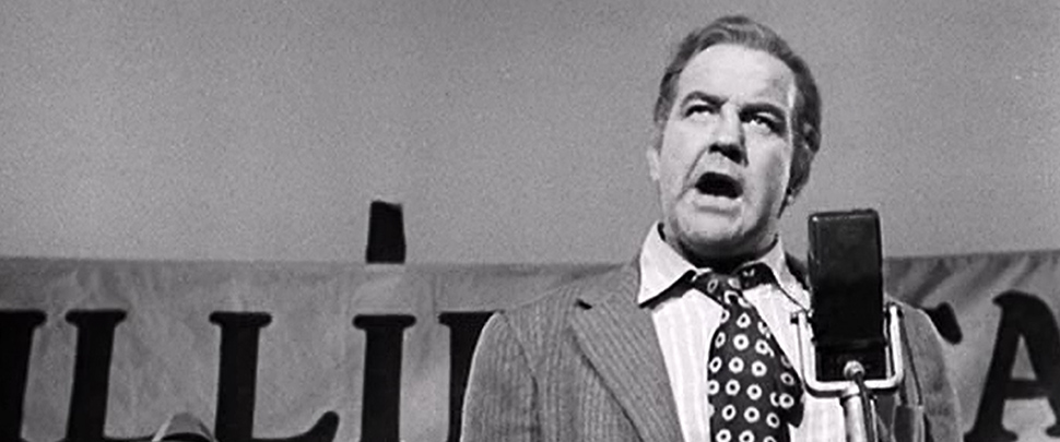 Broderick Crawford as Willie Stark in All the King's Men