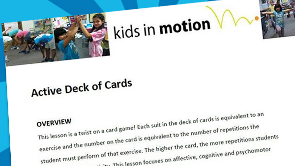 Active deck of cards