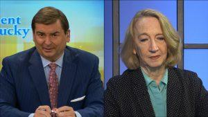 Bill Bryant and reporter Deborah Yetter.