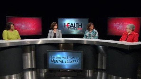 Renee Shaw and panel on erasing stigma of mental illness