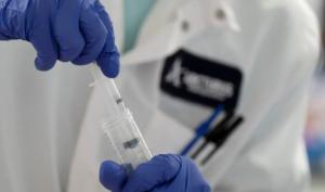 A vaccine in development.