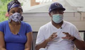 A Black couple in Washington, DC discuss their experiences with COVID-19.