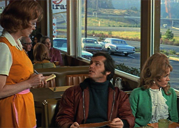 Jack Nicholson in the diner scene from Five Easy Pieces