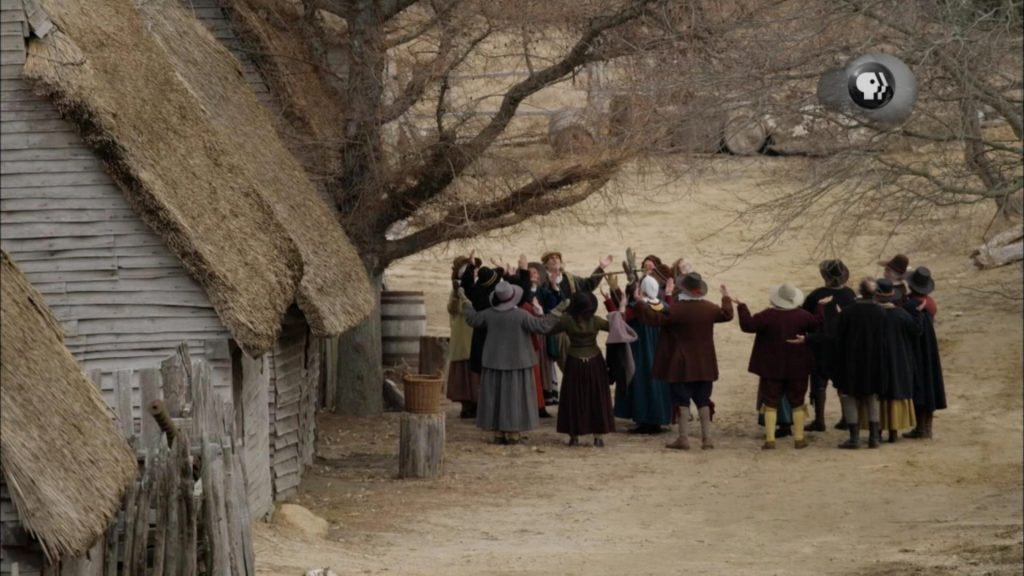 Pilgrims, the true story of thanksgiving