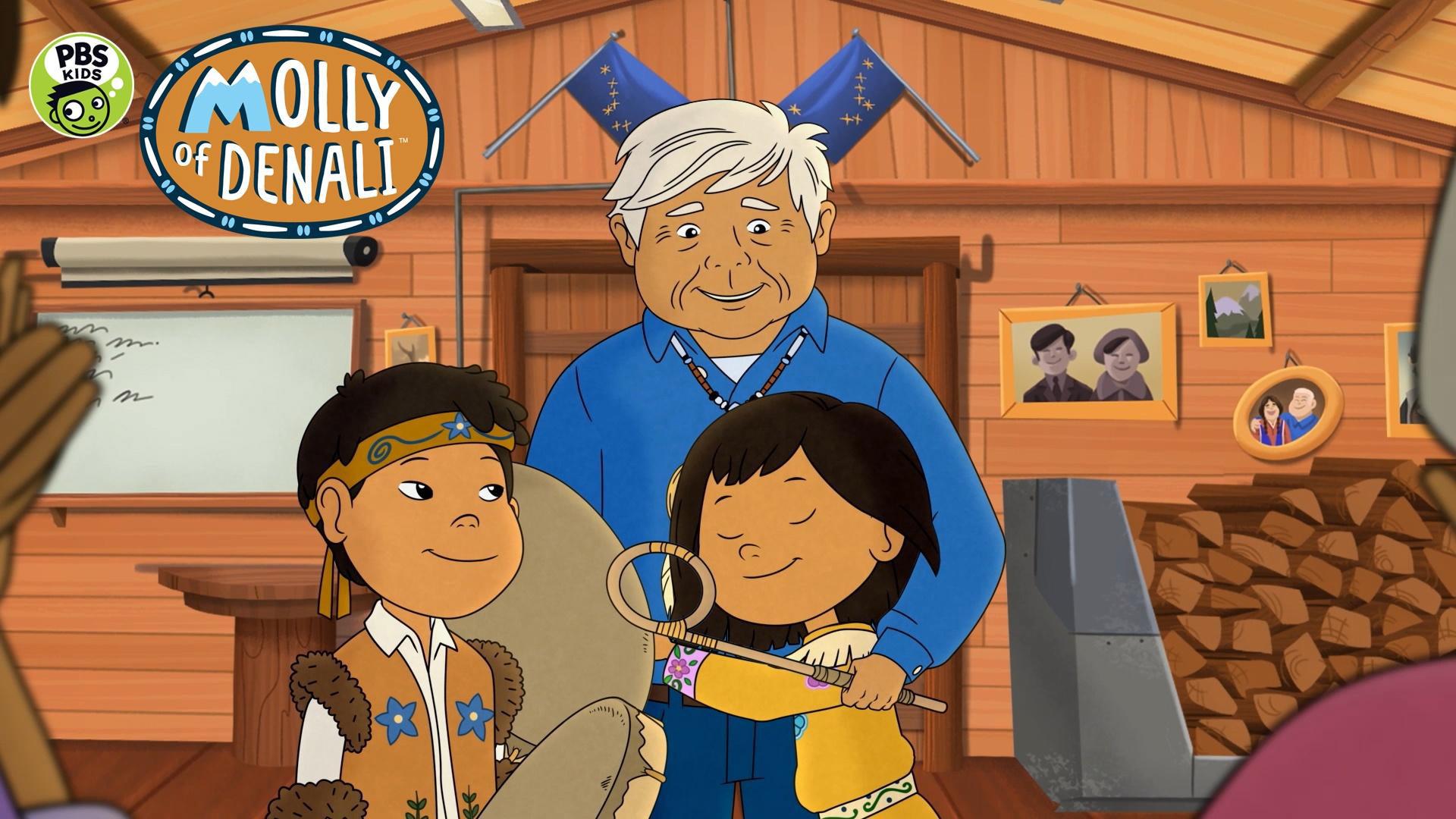 Grandpa's Drum Molly of Denali