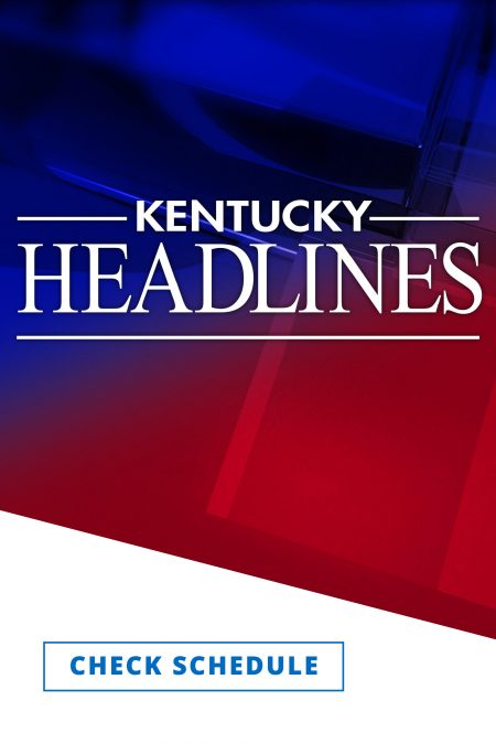 Kentucky Headlines logo in white against a blue and red background