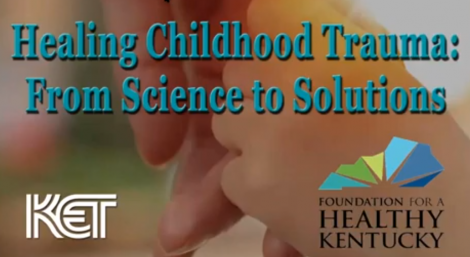KET Healing Childhood Trauma panel discussion logo.