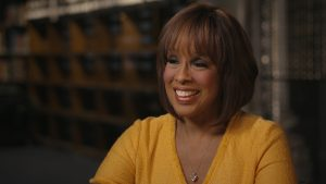 Gayle King in her appearance on Finding Your Roots