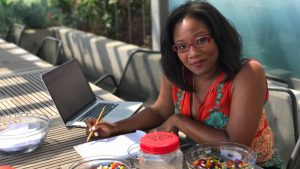 Statistican Talithia Williams demonstrates the power of the Wisdom of Crows…with jelly beans.