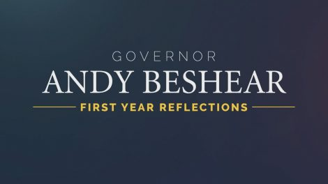 KET program logo: Gov. Andy Beshear: First Year Reflections