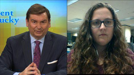 Bill Bryant and reporter Morgan Watkins.