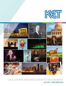 KET Annual Report Cover