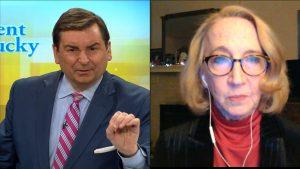 Bill Bryant and Courier-Journal reporter Deborah Yetter.