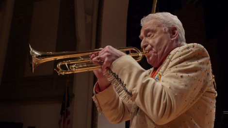 Doc Severinsen performing for audiences in his nineties.