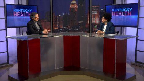 Dr. Tuckson interviews Delanor Manson of Kentucky Nurses Association.