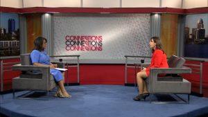 Renee Shaw interviews Treasurer Allison Ball.