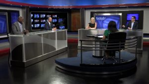 Renee Shaw leads a discussion about President Joe Biden's policies on Kentucky Tonight.