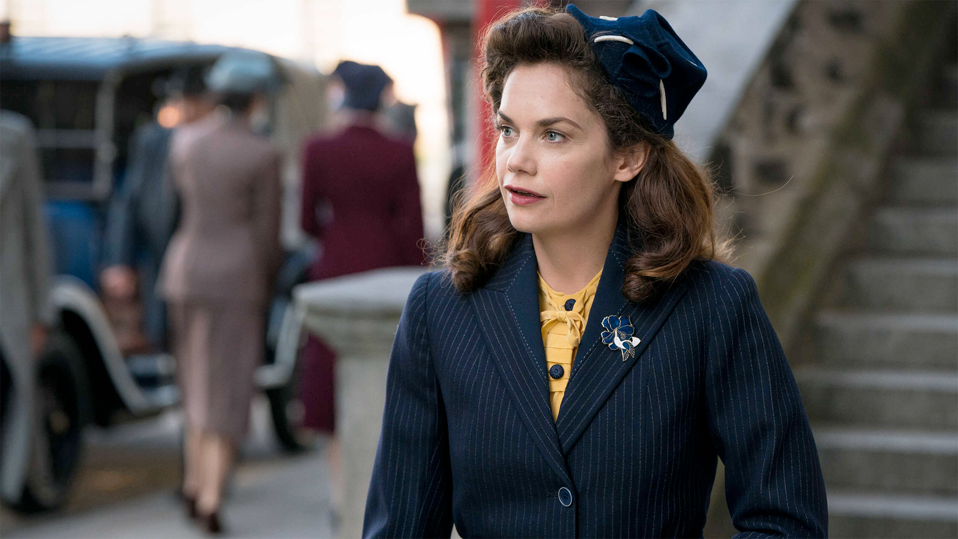 Ruth Wilson as Alice Wilson in a scene from Mrs. Wilson.