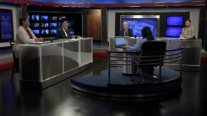 Renee Shaw and guests discuss critical race theory on the set of Kentucky Tonight.