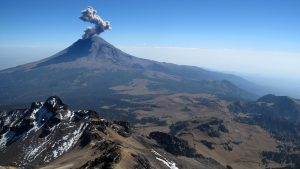 Popocatépetl is Mexico's most active volcano and lies on the outskirts of its largest metropolis, Mexico City.