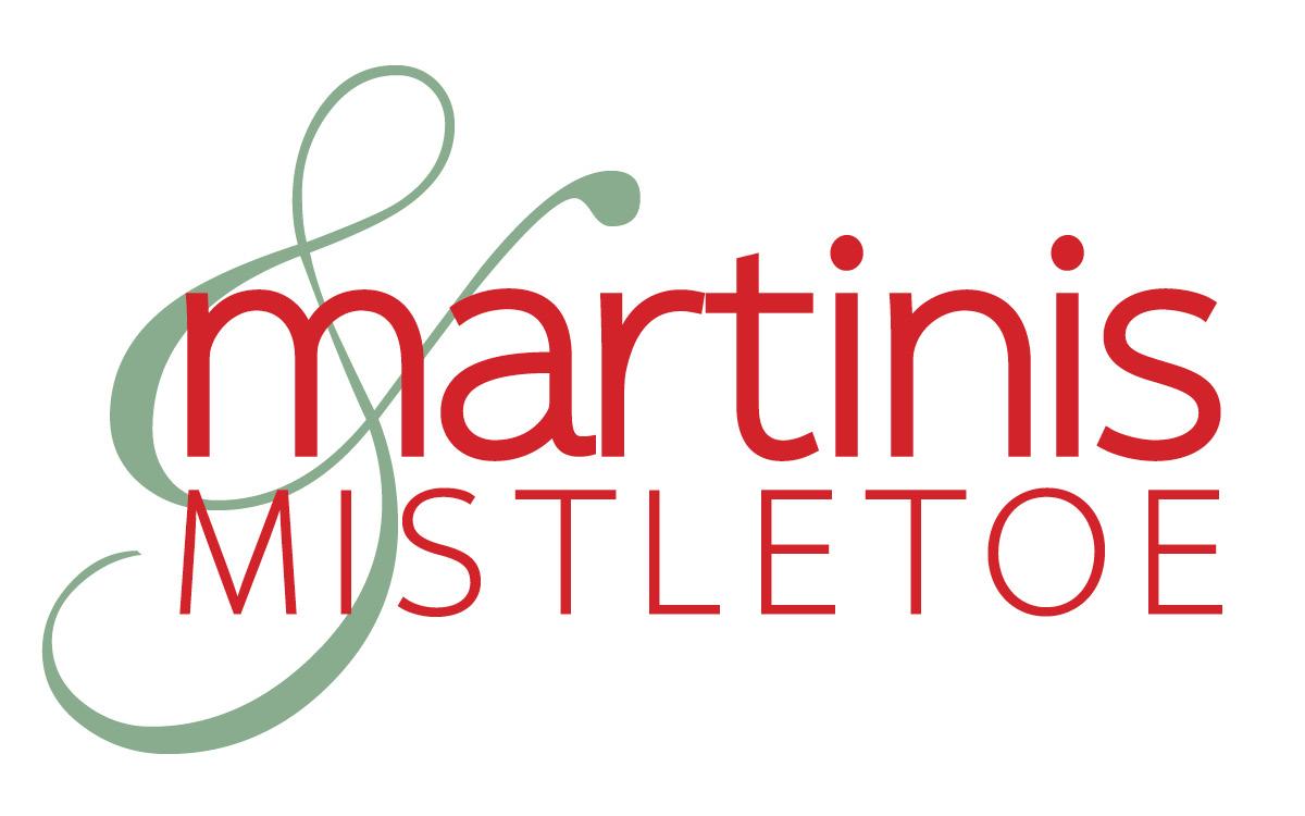 Martinis & Mistletoe logo