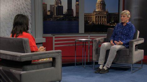 ReneeShaw speaks with Kathy Werking, executive director of On the Move Art Studio.