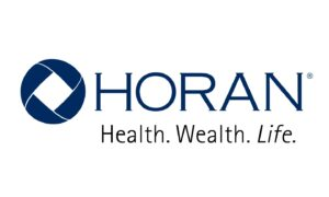 """HORAN logo with the words """"Health. Wealth. Life."""""""