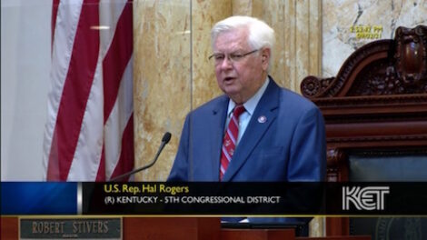 Congressman Hal Rogers Speaks to the Kentucky General Assembly