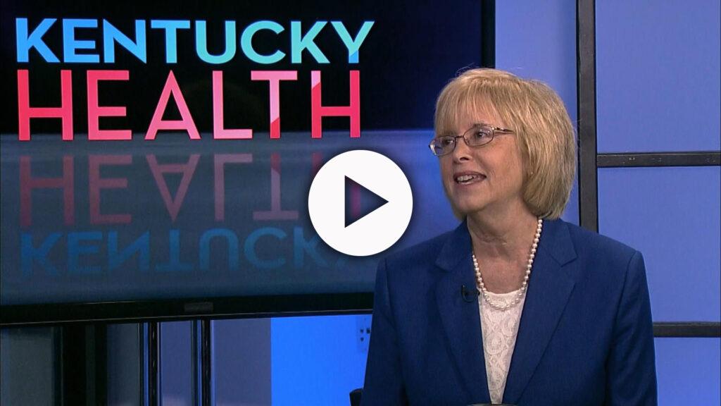 Guest Ellen Hahn on the Kentucky health set.