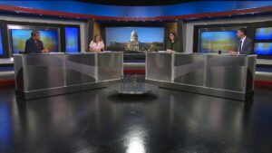 Lawrence Smith hosts an episode of Comment on Kentucky in September 2021.