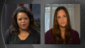 Renee Shaw speaks with guest Whitney Strong, an advocate for reducing gun violence.